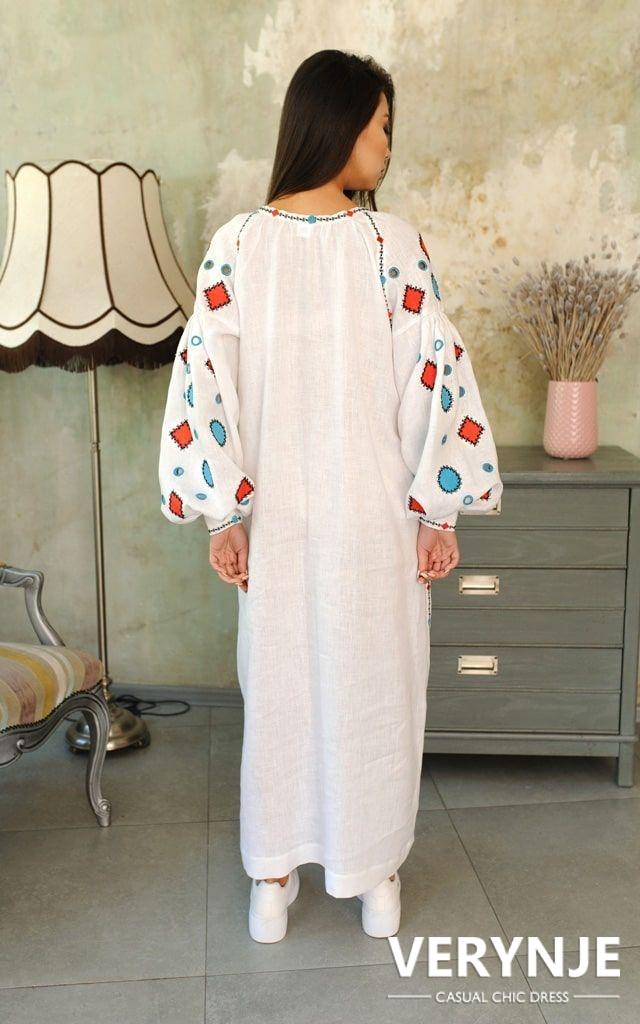 Платье «Марокко» белое длинное