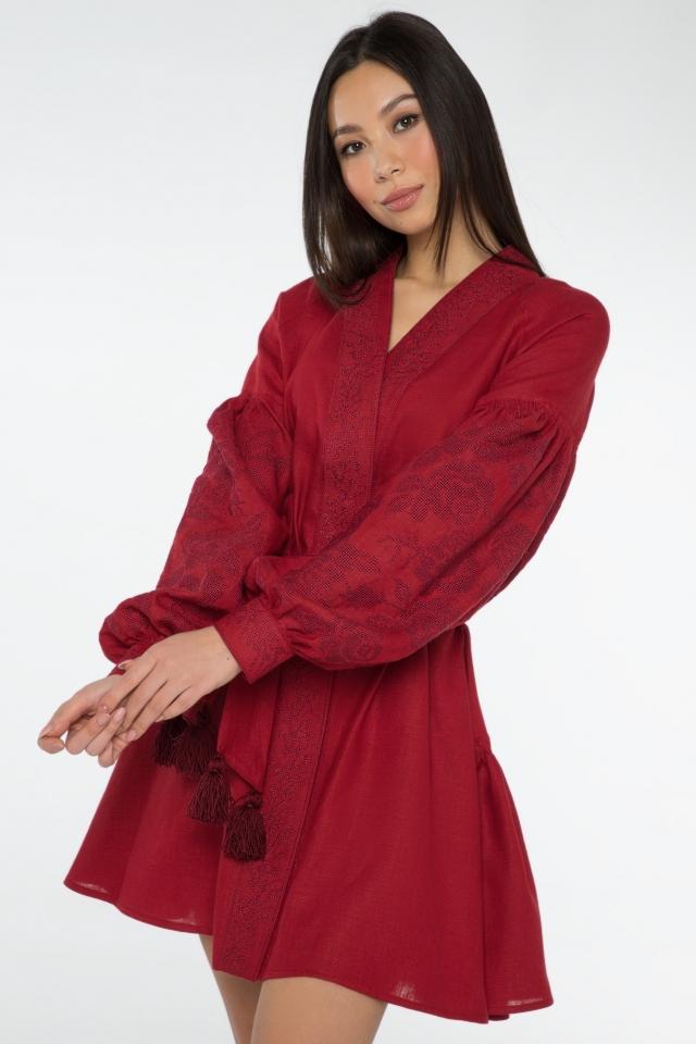 Платье «Прозрачность» короткое